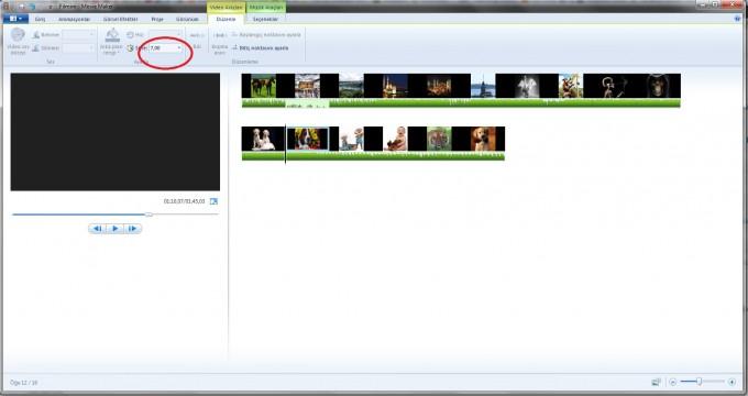 Resimlerden Movie Maker ile Slayt Hazırlama - 5